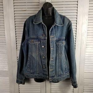 Vtg Wrangler hero denim 80s trucker jacket